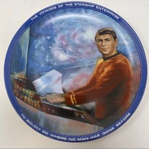 Scotty Star Trek Hamilton Collection Plate